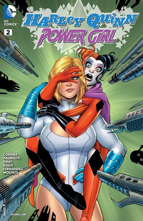 Harley Quinn and Power Girl #2