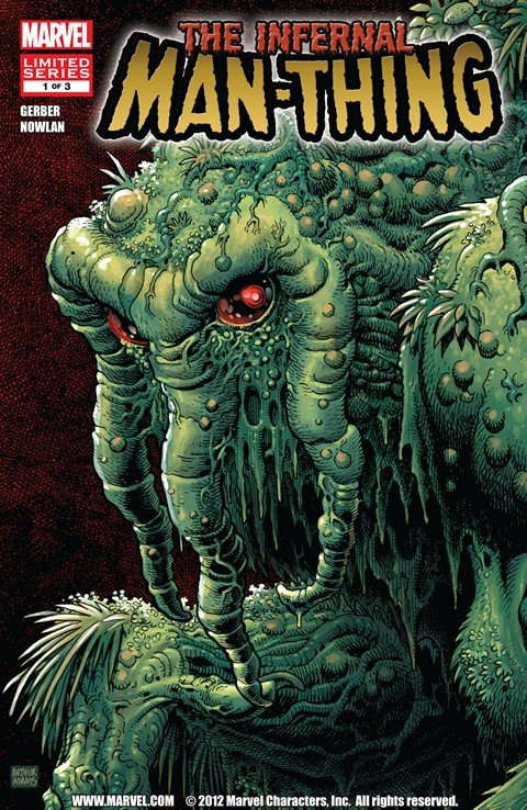 Infernal Man-Thing #1 – 3