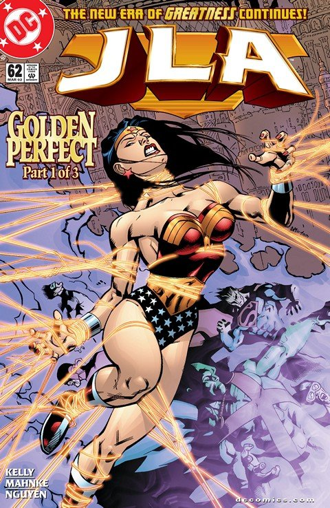 JLA – Golden Perfect