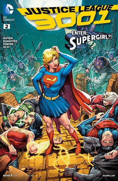 Justice League 3001 #2