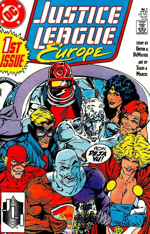 Justice League Europe Vol.1 #1 – 50 + Annual