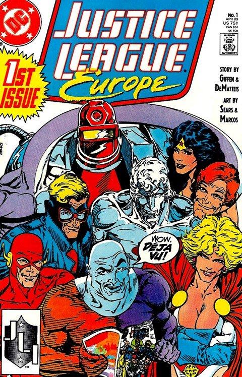 Justice League Europe Vol.1 #1 – 50 + Annual
