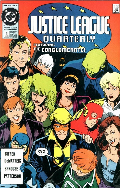 Justice League Quarterly #1 – 17