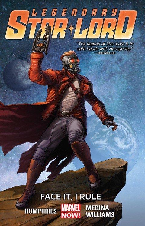 Legendary Star-Lord Vol. 1 – Face It, I Rule (TPB)