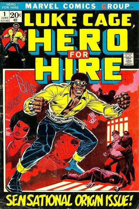 Luke Cage Hero for Hire #1 – 16