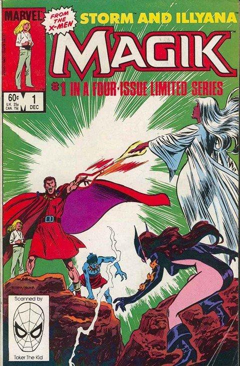 Magik – Storm & Illyana #1 – 4