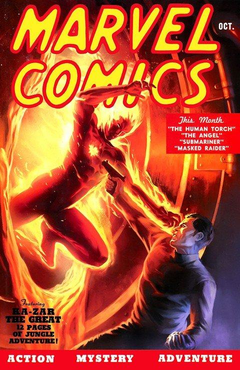 Marvel Mystery Comics #1 – 92 (1939-1949)