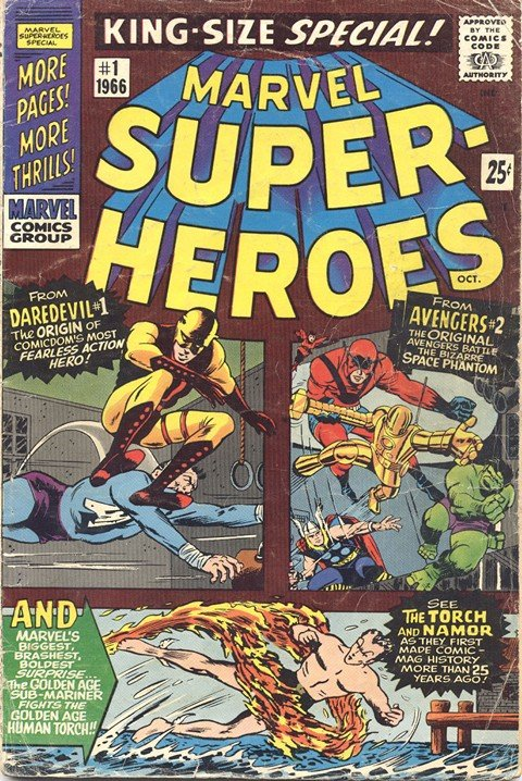 Marvel Super-Heroes (Ultimate Collection) (1966-2013)