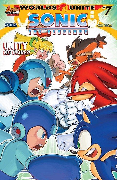 Sonic the Hedgehog #274 – 275
