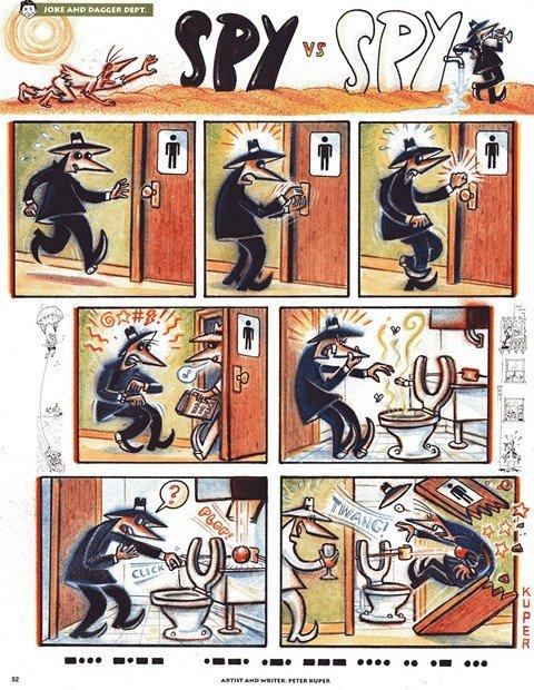 Spy vs Spy (1961-2010)