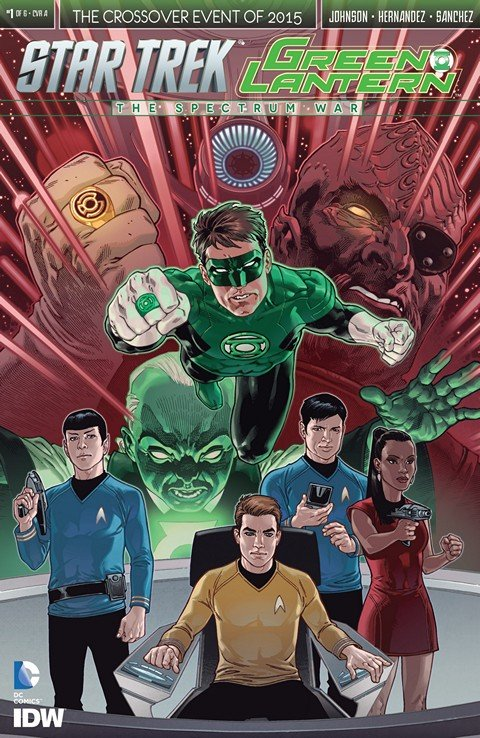 Star Trek – Green Lantern – Spectrum War #1