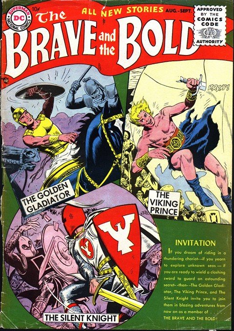 The Brave and the Bold Vol. 1 #1 – 200