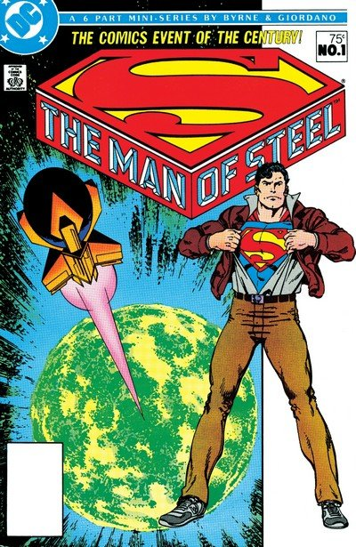 The Man of Steel #1 – 6 (1986)