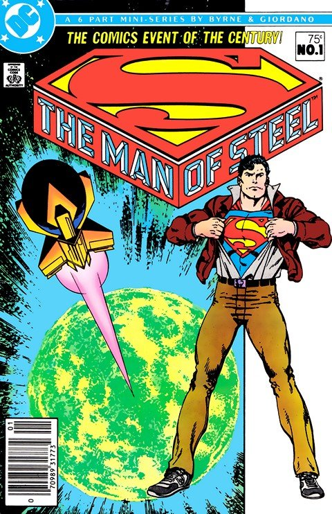 The Man of Steel #1 – 6