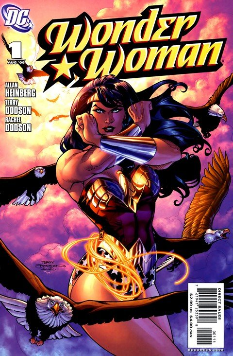 Wonder Woman Vol. 3 #1 – 44 + 600 – 614