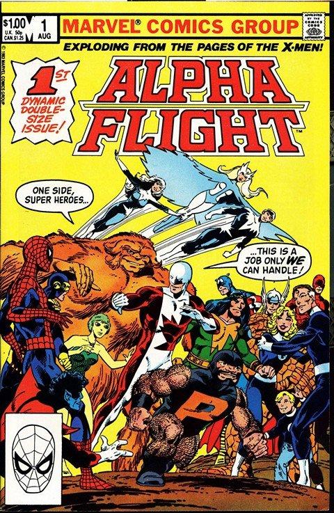 Alpha Flight Vol. 1 – 3 + Extras (1983-2005)