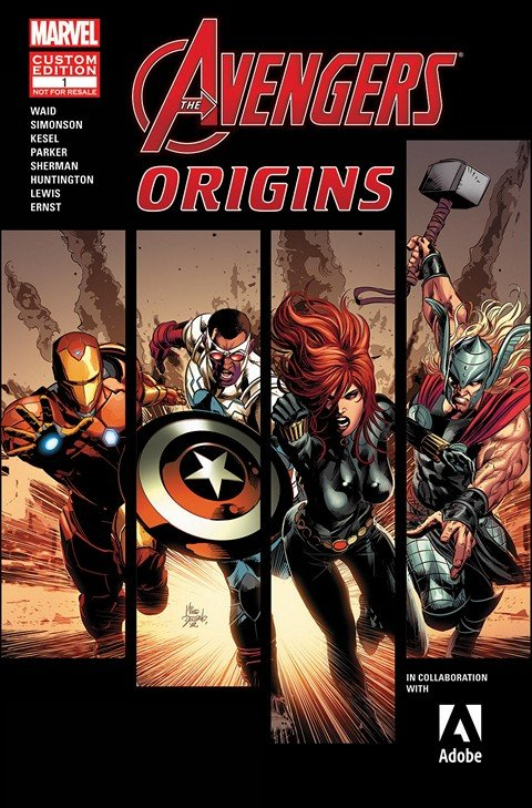 Avengers Origins Presented by ADOBE (2015) #1