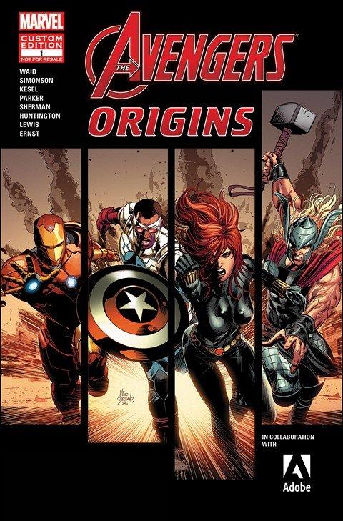 Avengers Origins Presented by ADOBE (2015) #1
