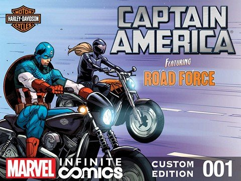 Captain America Featuring Road Force in End Game #1