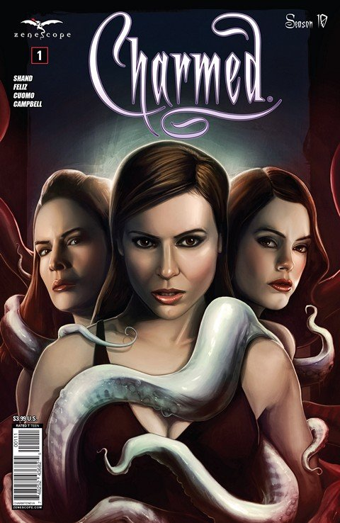 Charmed Season 10 (#1 – 10) + TPB Vol. 1 – 3
