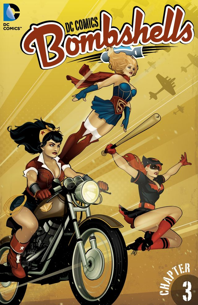 DC Comics – Bombshells #3