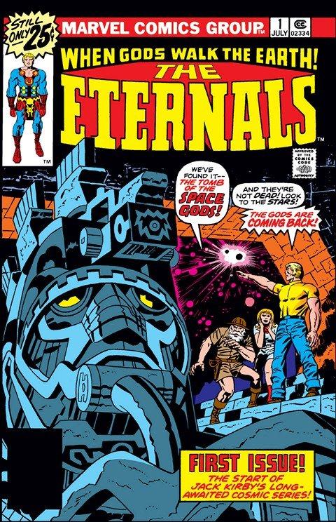 Eternals Vol. 1 – 4 + Extras (1976-2009)