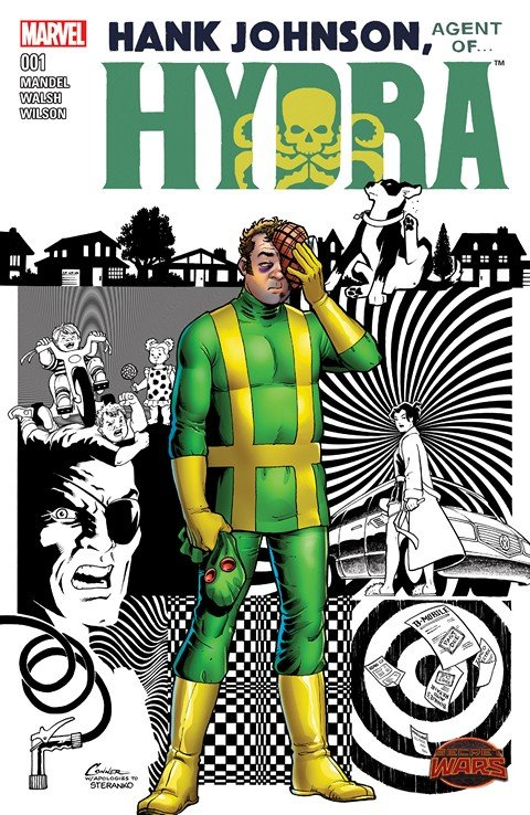 Hank Johnson – Agent of Hydra #1