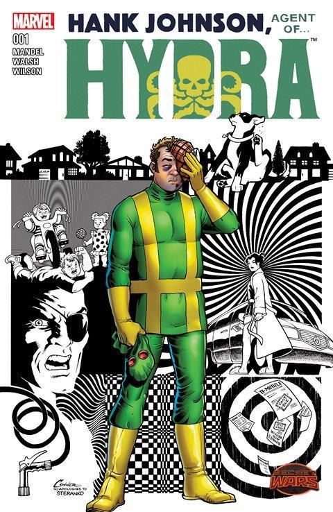 Hank Johnson – Agent of Hydra #1