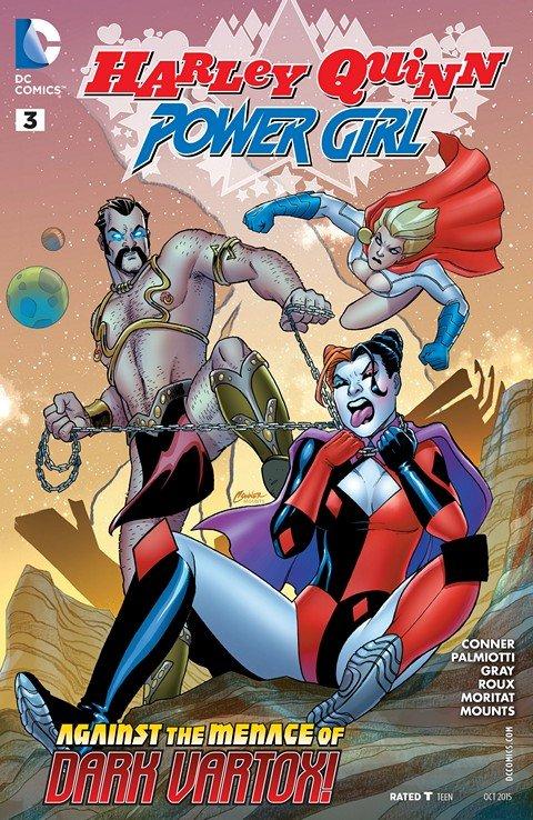 Harley Quinn and Power Girl #3