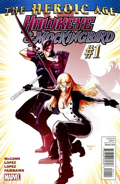 Hawkeye and Mockingbird #1 – 6