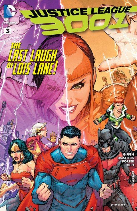 Justice League 3001 #3
