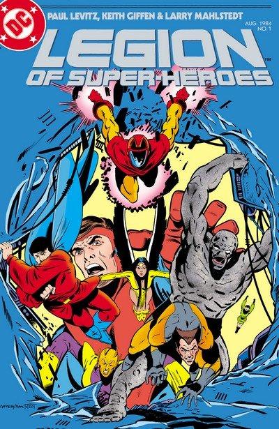 Legion of Super-Heroes Vol. 3 #1 – 63 + Annual (1984-1989)