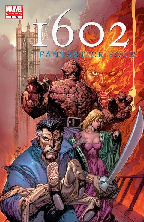 Marvel 1602 – Fantastick Four #1 – 5