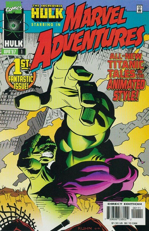 Marvel Adventures Vol. 1 #1 – 18