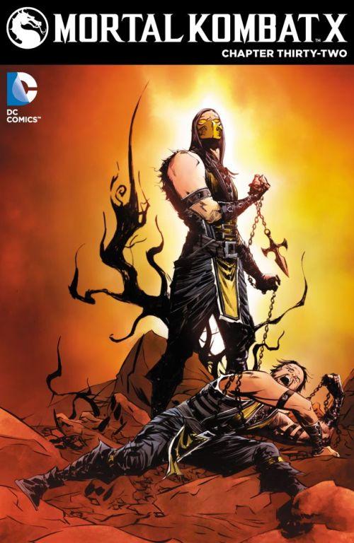 Mortal Kombat X #32