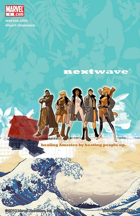 Nextwave – Agents of H.A.T.E #1 – 12
