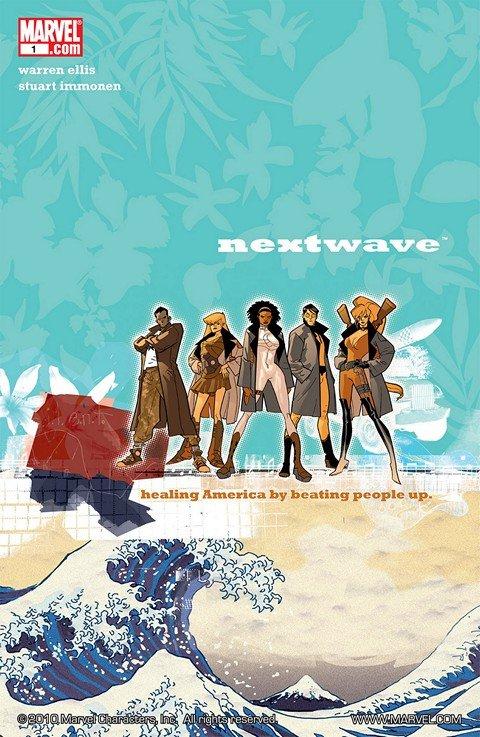 Nextwave – Agents of H.A.T.E #1 – 12 (2006-2007)