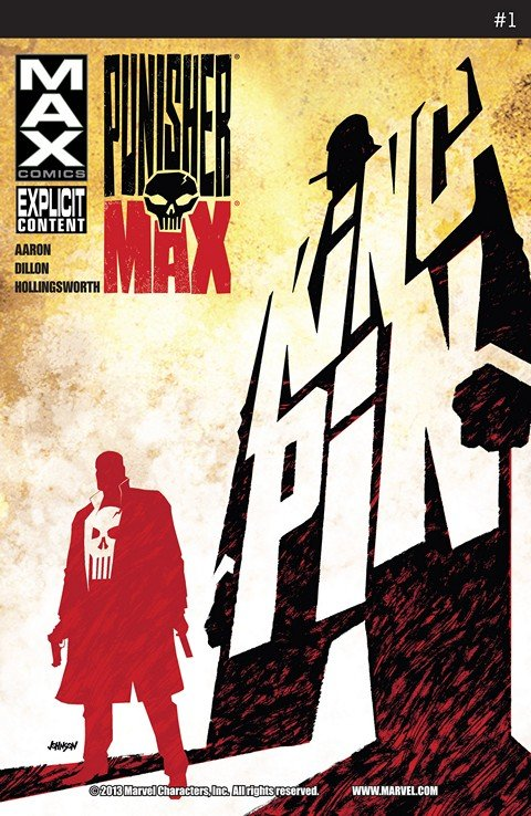 Punisher MAX #1 – 22 + Annual + Special