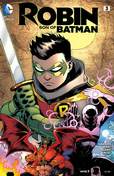 Robin – Son of Batman #3