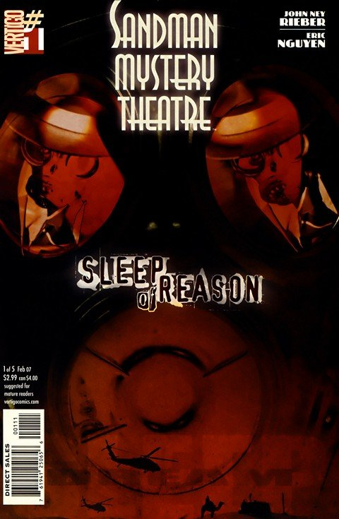 Sandman Mystery Theatre – Sleep of Reason #1 – 5 (2007)