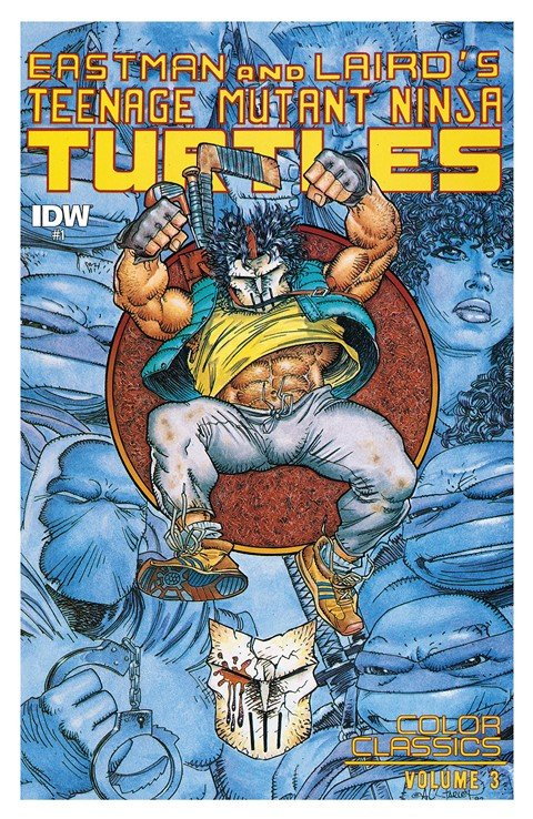 Teenage Mutant Ninja Turtles – Color Classics Vol. 3 #1 – 8