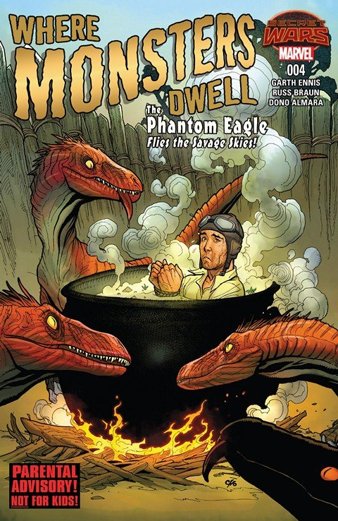 Where Monsters Dwell Vol 2 #4