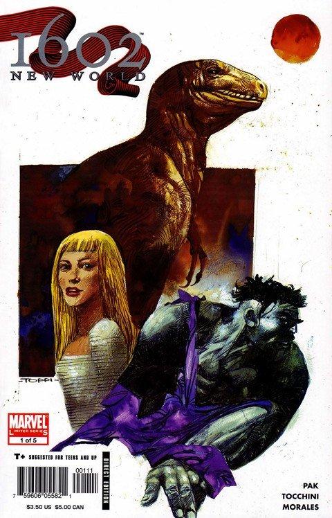 Marvel 1602 – New World #1 – 5 (2005-2006)