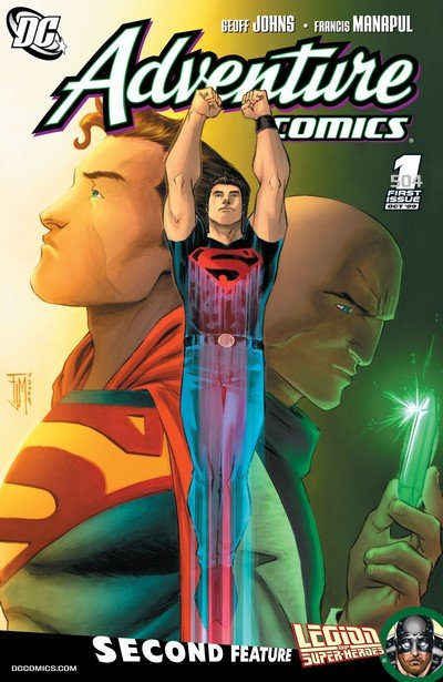 Adventure Comics Vol. 2 #0 – 12 + 516 – 529 (2009-2011)