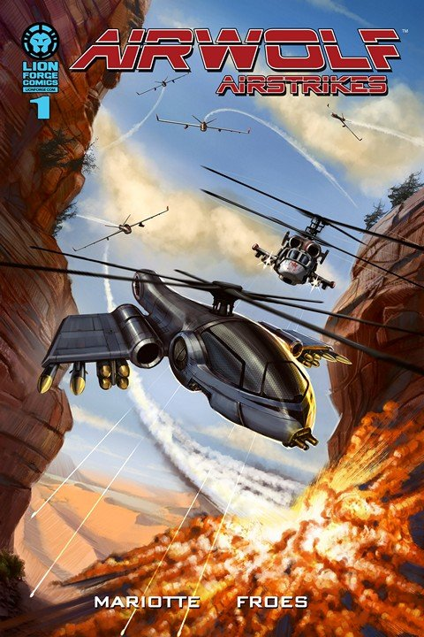 Airwolf Airstrikes – Eye in the Sky #1