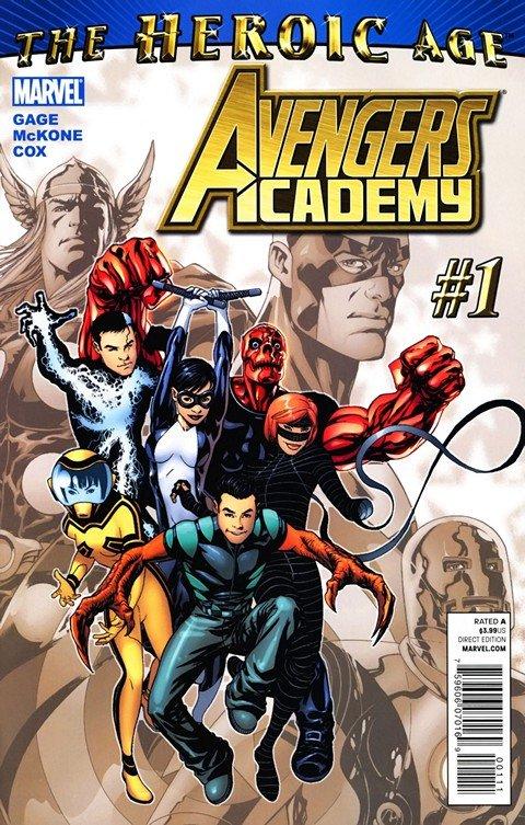 Avengers Academy #1 – 39 + Extras