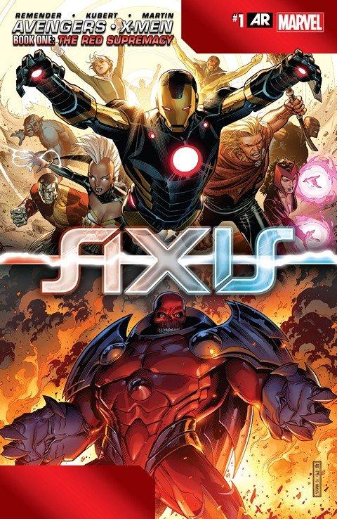Avengers & X-Men – Axis #1 – 9 + Tie-Ins