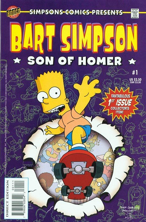 Bart Simpson #1 – 82