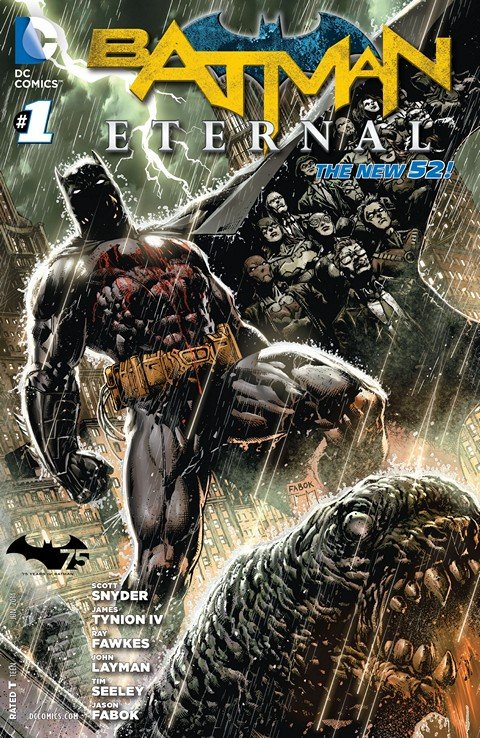 Batman Eternal Vol. 3 #1 – 52 + TPB Vol. 1 – 2