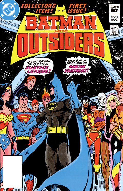 Batman and the Outsiders Vol. 1 #1 – 32 + Annuals